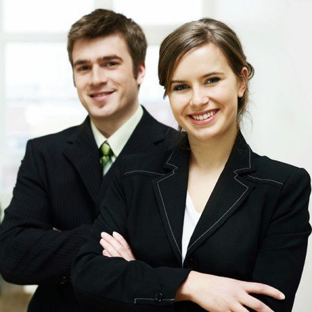 business-man-and-woman